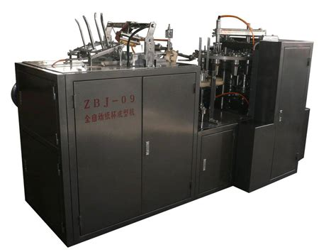Paper Cup Machines - zbj 09a automatic paper cup forming machinery