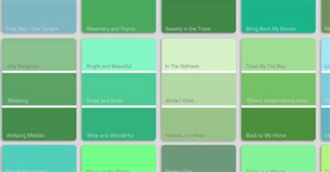 green colors names light green color names gallery