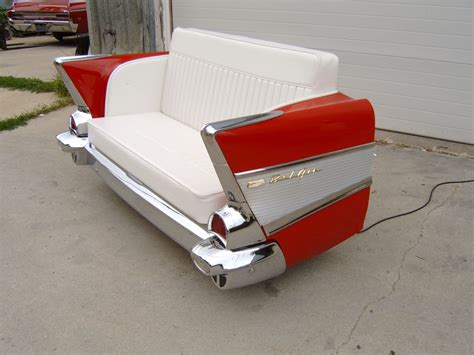 New Retro Cars Restored Classic Car Couches Sofas And
