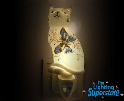 Cat Night Light   Discontinued Table and Floor