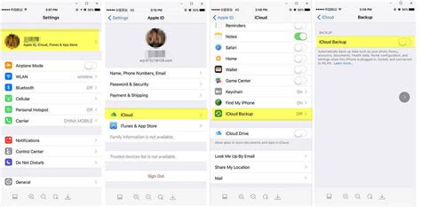 ios 11 how to backup and restore iphone