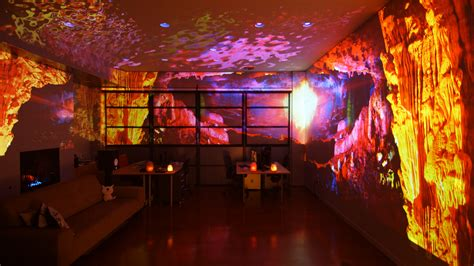 Blurred Lines A Digital Artist S Studio Becomes His Art