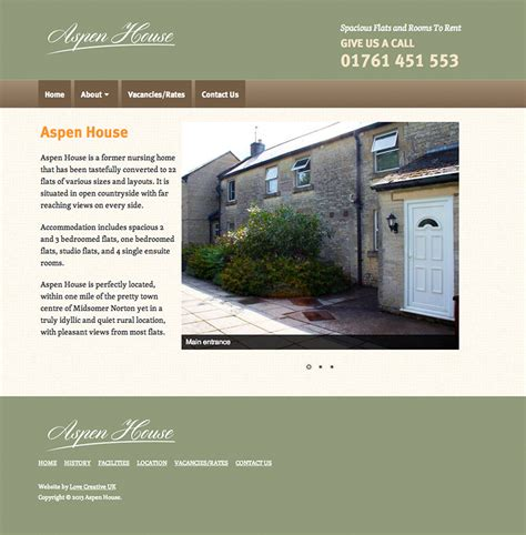 house rentals websites new flat rental website by love creative uk