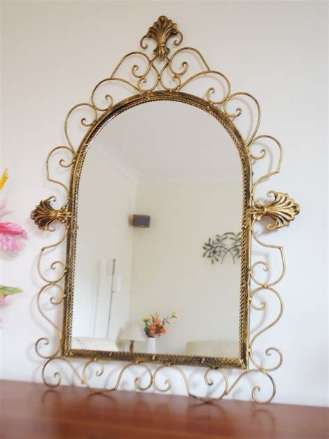 iron mirror wall decor style iron mirror wall bath decor 70x52cm in