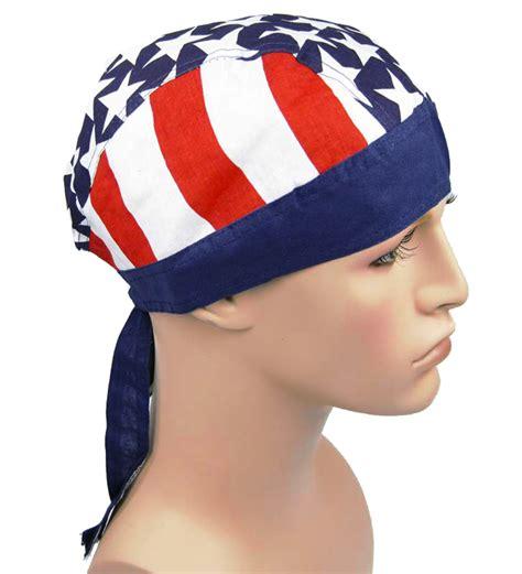 Bandana Sepeda Import Lot H usa american america flag biker wrap bandanna bandana ebay