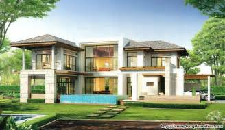 Modern Home Design And Floor Plans modern house design new modern tropical style double
