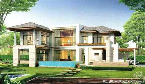 tropical house designs and floor plans modern house design new modern tropical style double storey house house floor