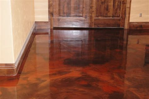 durable epoxy stained concrete