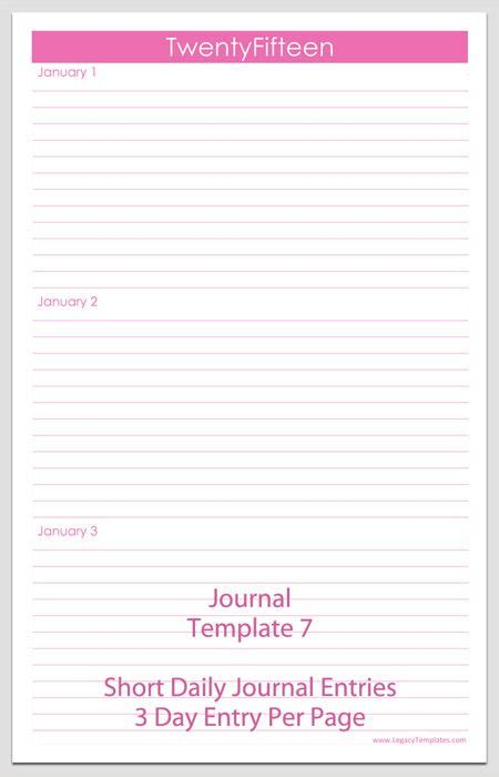 journal template journal template free printable journal pages comes in