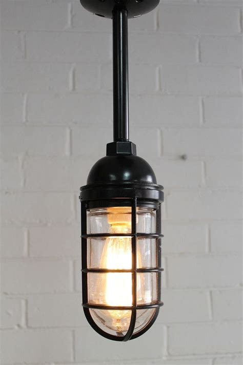 industrial cage pendant light cage light industrial pendant pole mount industrial