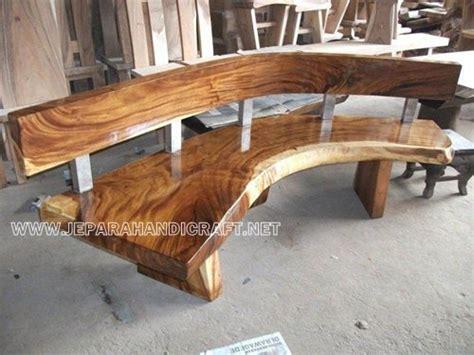 jual kursi bangku taman antik kayu utuh harga murah