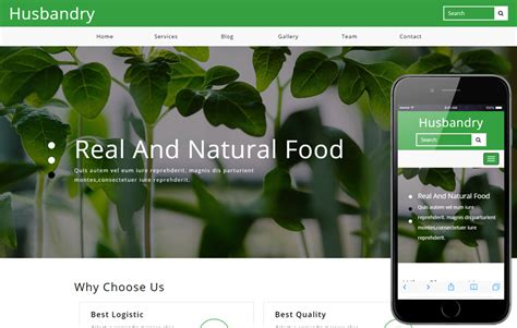 free bootstrap templates for agriculture crops a agriculture category flat bootstrap responsive web