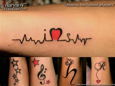 aaryan tattooist at aaryan s ahmedabad beautiful small