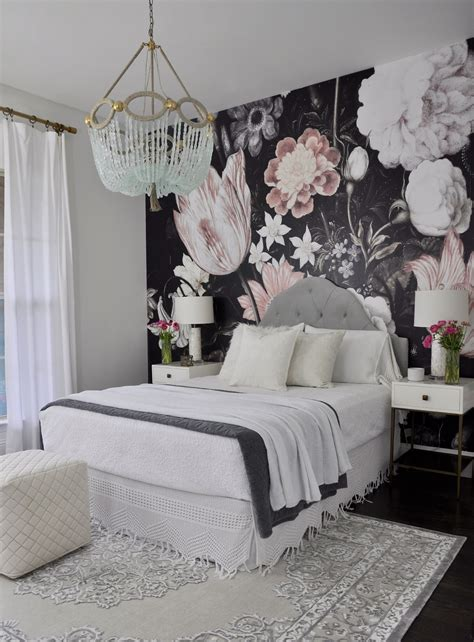 rooms wallpaper one room challenge the reveal home projects we bedroom decor home decor