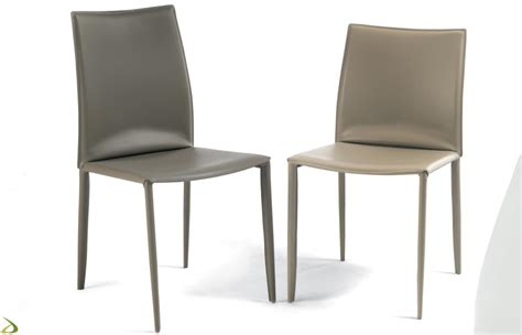 sedie moderne design sedia da cucina in cuoio di bontempi arredo design