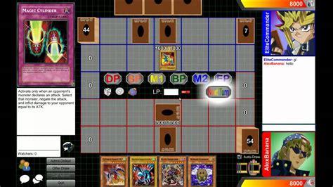 tutorial yugioh online dueling network tutorial yu gi oh online youtube