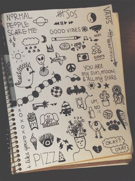 doodle notebook ideas 1000 images about doodles on drawing flowers