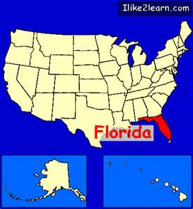 us map florida florida