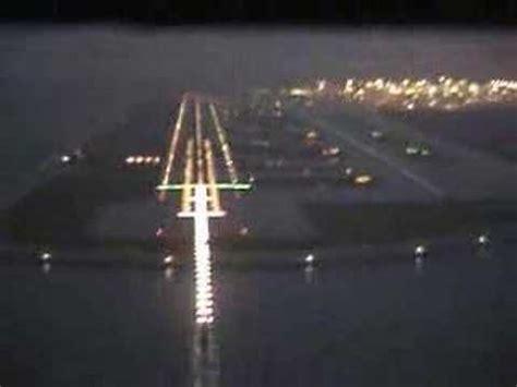 hkg_ab6 rwy07l ils landing in fog hong kong youtube