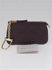 Key Chain Branded Zipper 02 Hermes Gucci gucci brown guccissima leather pochette clefs key pouch yoogi s closet