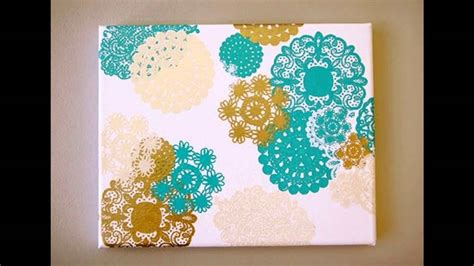 canvas craft ideas for canvas painting decorations ideas for home