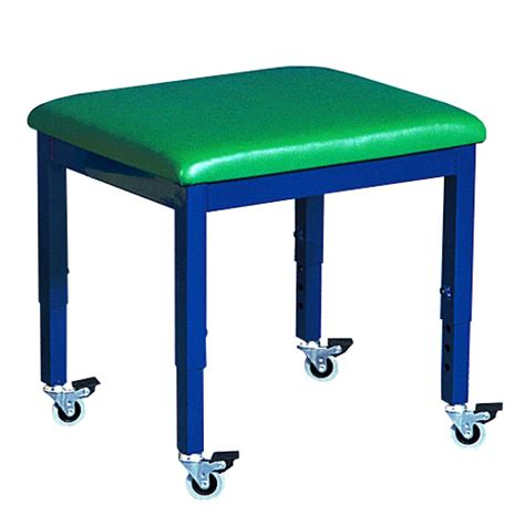 Therapy Stool by Wheely Therapy Stool Green Therapy Benches And Stools