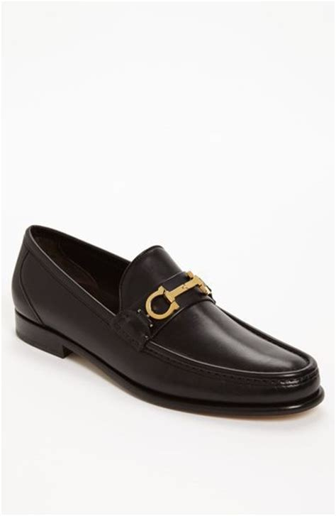 ferragamo bit loafer ferragamo twirl bit loafer in for black lyst