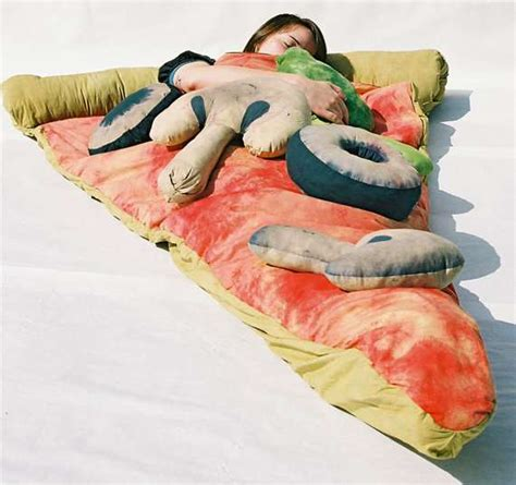 pizza bed sheets gourmet culinary bedding pizza sleeping bag