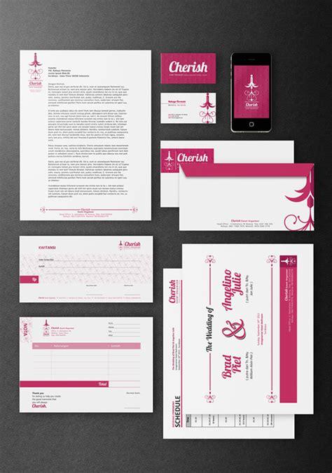 Join Wedding Organizer Jakarta by Cherish Event Organizer Logo Identities On Pantone