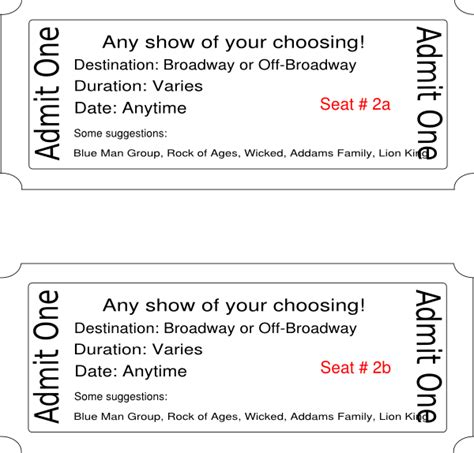 show ticket template image broadway show tickets adanih