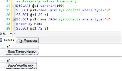 1_set vs select in sql server