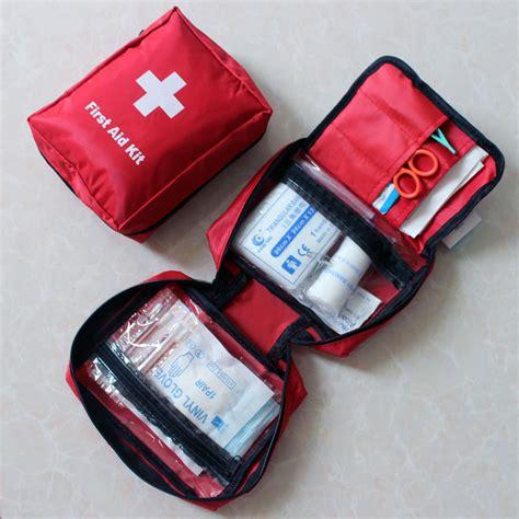 Travel Medicine Pouch Tas Travel P3k 14 pcs outdoor products portable kits medicine bag bag car travel aid kit