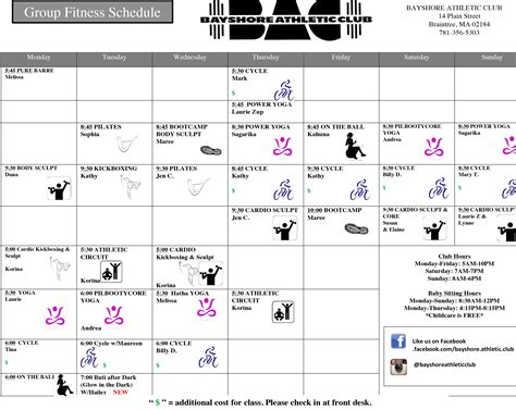 Rpac Fitness Classes 2 by Fitness Classes At Bayshore Athletic Club