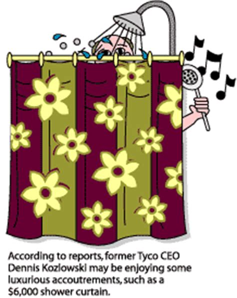 kozlowski shower curtain tyco reportedly gave kozlowski 135m for luxury purchases