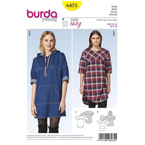 60241 Dresa Tunic Donita dress burda sewing pattern n 176 6475 ma mercerie