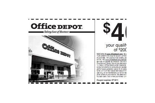 office depot printable coupon $40 off $200