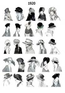names of 1920s hairstyle 1920s pictures hats 20s hair style fashions
