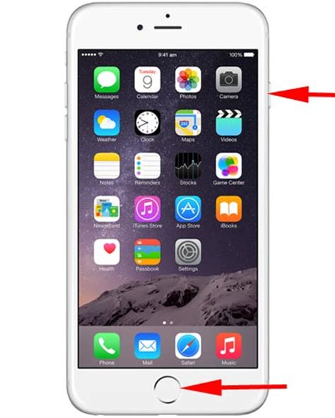 how to take a screenshot on iphone 6 or 6 plus