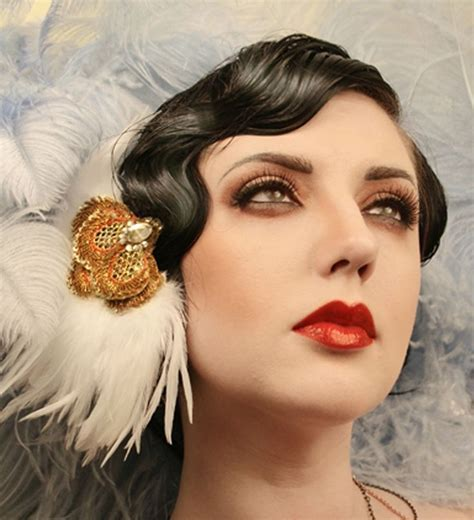 hair and makeup in the 1920s great gatsby flapper girl 1920s makeup p e r i o d m a