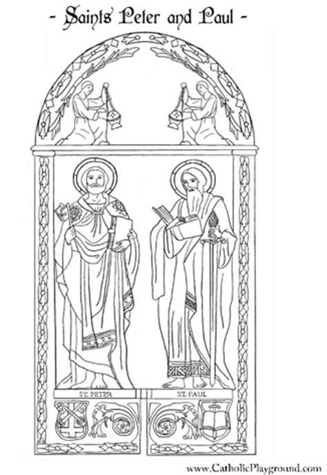 heaven s a coloring book illustrated by jesstyne smith books saints and paul coloring page june 29th catholic