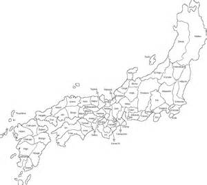 Japan Map Cities Outline by Maps