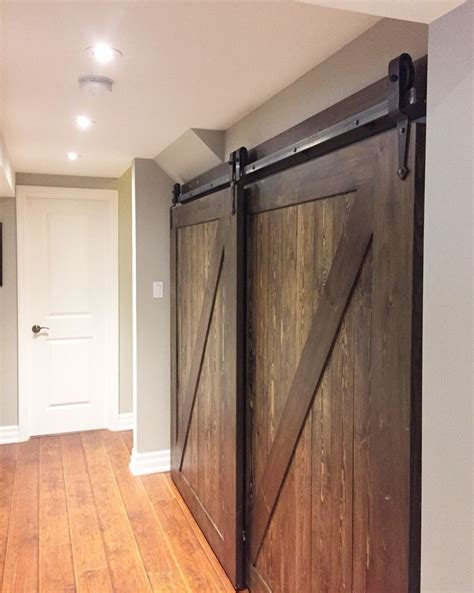 Installing Bypass Closet Doors 25 Best Ideas About Bypass Barn Door Hardware On Pinterest Closet Door Hardware Sliding Barn