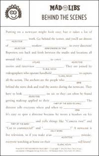 Hot off the presses mad libs 051331 details rainbow resource