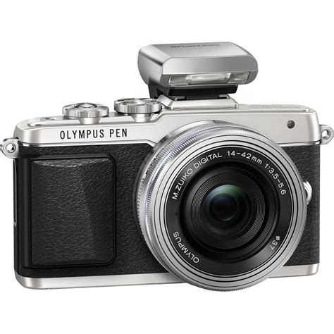 Olympus Pen F Mirrorless Micro Four Thirds Digital Only olympus pen e pl7 mirrorless micro four thirds v205073su001 b h