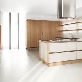 white symmetrical kitchen range with natural wooden 35 two tone kitchen cabinets to reinspire your favorite