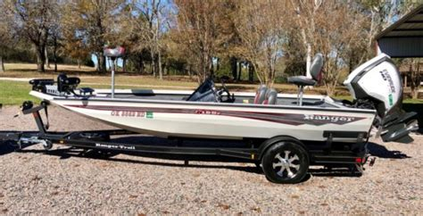 ranger bass boat for sale oklahoma 2017 ranger rt198p aluminum bass boat for sale in sulphur