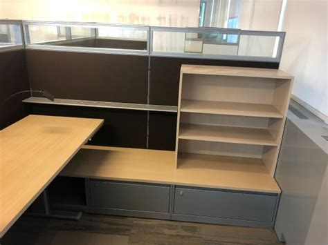 steelcase montage  high panels  cubicles