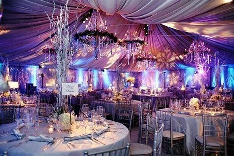 winter venue decorations reception decor ideas wedding reception photos by