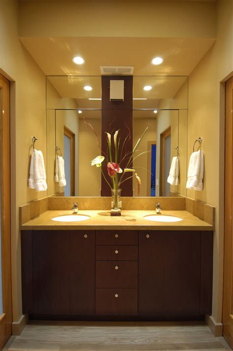 hand towel holder Bathroom Traditional with cabinet