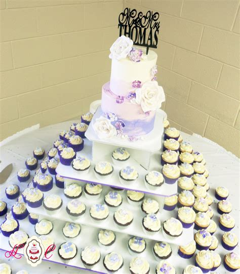 Simple Wedding Cake And Cupcakes by 96 Simple Two Tier Wedding Cake Buttercream White
